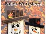 Scarecrow /Snowman Board Art