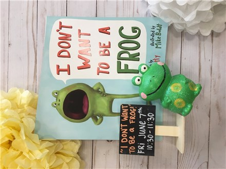 "Pre-K Story Time ""I Don't Want To Be A Frog"""