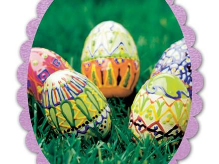 To-Go Acrylic kit -  Easter Egg