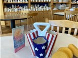 """""""USA Red, White & Blue"""" - Ceramic Caddy, Crafts, Movie, and FUN! Tuesday, August 4th: 10am-3pm"""