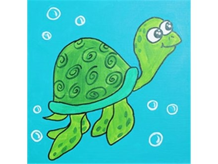 Canvas Class for Kids! April 16th