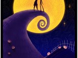 Nightmare Before Christmas Canvas Date Night Oct. 25