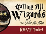 Witches & Wizards Pottery Night
