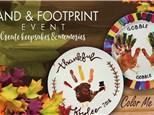 Nov 13th • Fall Hand Print Event • Color Me Mine Aurora