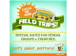 To-Go Field Trip at Color Me Mine Delray