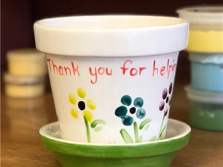 Family Pottery - Flower Pot - Morning Session - 04.26.19