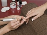 Manicure and Pedicure: New World Nail & Spa