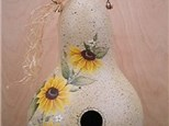 Sunflower Bird Gourd House 8/25