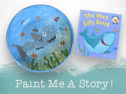 Paint Me A Story: The Very Silly Shark