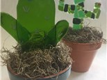 1-Day Mini Camp/ Cactus Planter Glass Fusing