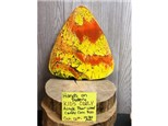 Kid's Class - Acrylic Pour Wood Candy Corn - Oct. 12th @ 10:30 am