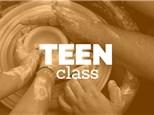 Teen Sunday 4-6pm, (MAY 6th - JUN 24th) 2018, TEEN/TWEEN WHEEL THROWING CLASS
