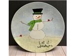 Let It Snow Platter Virtual Class