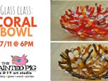 Glass Class- Coral Bowls (7/11)