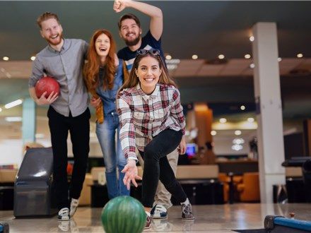 Friday/Saturday Night Unlimited Bowling for 120 Minutes (Shoe Rental Included)