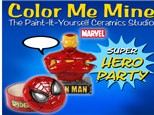 Marvel Party - Color Me Mine of Ridgewood