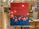 May 29th Poppy Field Canvas Class