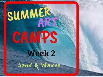 Summer Art Camp Week 2: Sand & Waves