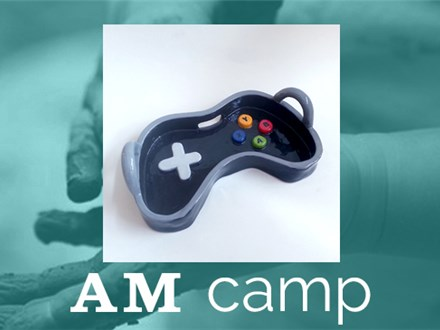 Game Controller Tray (Game On) July 25th, Morning Camp 2017