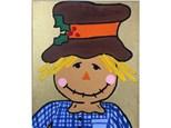 Scarecrow Kids Canvas - 11/03