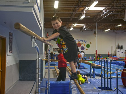 NW Aerials - Basic Party Package Gymnastics, Trampoline, & Dancing!