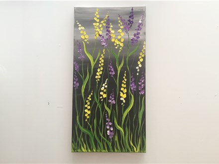 Spring Garden (Am. Cancer society fundraiser) Canvas Class