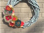 BFF Wreath Class at Front Room on 7th