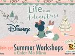 Disney Days: Pottery - July 26, 2017