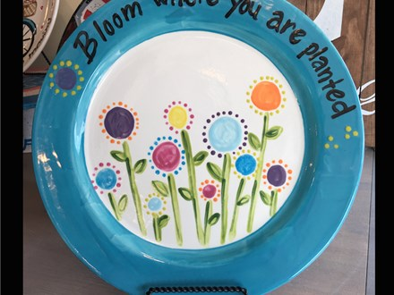 Pottery Night at Fire Me Up! Saturday, April 1st 7-9p