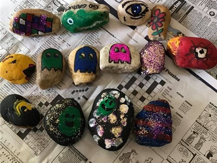 Rock Painting Party