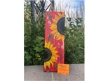 You Had Me at Merlot - Sunflowers on Wood - Sept 27th