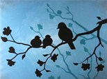 Adult Canvas - Mother Bird - Morning Session - 05.05.17