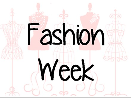 "Summer Camp Week Five  ""Fashion Week"""