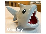 Monday, July 23rd- Shark Ceramic- 12pm to 4pm