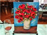 10/16 Van Gogh Poppies (deposit)