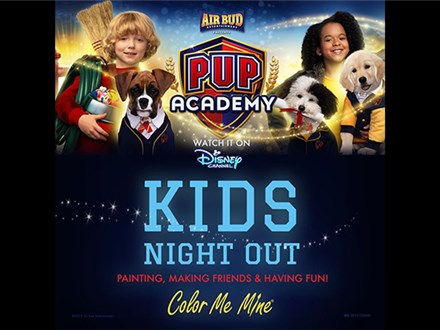 Pup Academy - Kids Night Out - September 21st