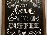Coffee Canvas Class