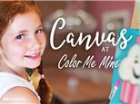 Da Vinci CANVAS Party Package at Color Me Mine Hamilton/Princeton