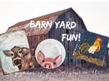 Summer Art Camp, July 23-24-25, Barnyard Fun!
