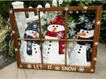 Holiday Workshop - Window Pane Painting - Dec. 2 - 1PM