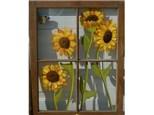 Window Pane Painting Workshop - Jan. 27 - 1PM