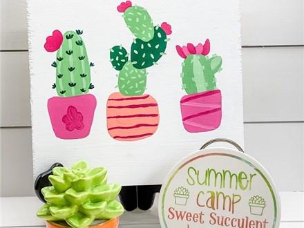 Sweet Succulent Kids Camp