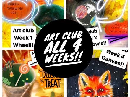 Art Club All 4 Weeks
