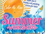 """""""Beachy Things"""" - Tiki Hut With Lights - Crafts, Movie, FUN! Thursday, June 24th: 10:00am-1:00pm"""