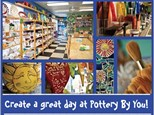 Buy Gift Certificates for POTTERY BY YOU!