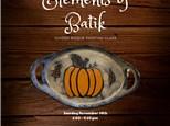 Elements of Batik