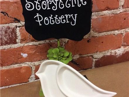 April Story Time Pottery