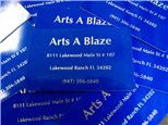 Gift Cards at Arts A Blaze