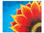 """Private Sip-N-Paint """"Red Sunflower"""" (Tues. 09/15)"""