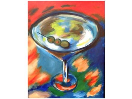 Paint & Sip - Martini Celebration - Dec. 29 - 7:30 PM